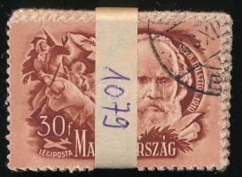 1948 Költők-írók 30f 100-as bündliben (30.000)