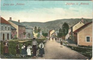 Avtovac, street view, Bosnian folklore. Verlag Omer Hasanbegovic (EK)