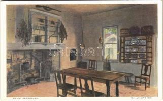 Mount Vernon (Virginia), family kitchen