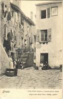 1908 Grado, old town. Atelier Hesz u. Wessely. Verlag Fratelli Grigolon u. Francesco Giorda (EK)