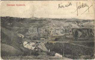 1913 Gyalár, Ghelari; bánya / mine (ázott sarkak / wet corners)