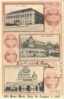 Boston (Massachusetts), Public Library, Art Museum, Trinity Church, old home week July 28 - August 3, 1907