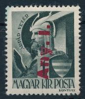 1946 Betűs Any.I./1f fordított felülnyomattal (20.000)