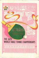 1961 Peking, The 26th World Table Tennis Championships / 26. Asztalitenisz (pingpong) Világbajnokság (EK)
