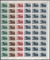 1946 Bélyegjubileum sor harmincas ívdarabban (36.000)