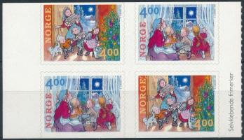 1999 Karácsony bélyegfüzet lap, Christmas stamp-booklet sheet Mi 1331-1332