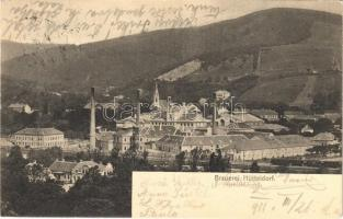 1911 Wien, Vienna, Bécs XIV. Hütteldorf, Brauerei / brewery
