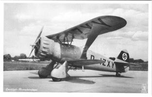 Henschel Kampfeinsitzer / German military aircraft, swastika