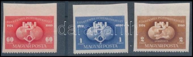 1949 UPU I. D ívszéli sor (18.000)