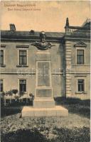 Nagyszőlős, Nagyszőllős, Vynohradiv (Vinohragyiv), Sevljus, Sevlus; Báró Perényi Zsigmond szobor. W.L. (?) 1971. Rochlitz Géza kiadása / statue