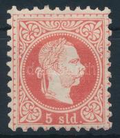 Magyar posta Romániában 1867 5sld