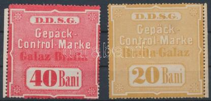 DDSG 2 db csomagellenőrzési bélyeg