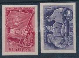 1951 Magyar-szovjet barátság vágott sor (9.000)