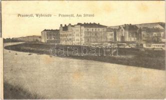 Przemysl, Wybrzeze / Am Strand / beach + K.u.k. Schlafwagensanitätszug Nr. 5.