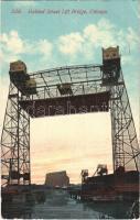 1913 Chicago (Illinois), Halsted Street Lift Bridge (fa)