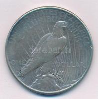 Amerikai Egyesült Államok 1923. 1$ Ag Béke T:2- USA 1923. One Dollar Ag Peace C:VF Krause KM#150