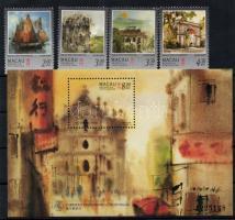 1997 Makaó, festmények Mi 899-903+blokk 43