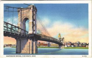 1933 Cincinnati (Ohio), Suspension Bridge