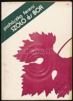 Csepregi Pál: A szőlő metszése. Bp., 1968, Mezőgazdasági. Ötödik, átdolgozott kiadás. Kiadói papírkötés. + Prohászka Ferenc: Szőlő és bor. Bp., 1982, Mezőgazdasági. Kiadói papírkötés.