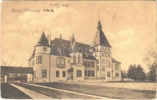 1909 Alsómiholjác, Unter-Miholtz, Donji Miholjac; Majláth kastély / Dvorac grofa Mailátha / castle (Rb)