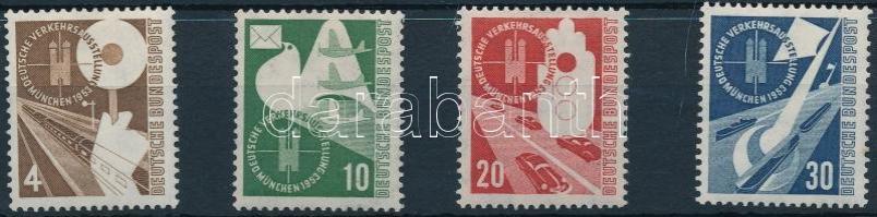 NSZK 1953 Közlekedési kiállítás Mi 167-170 (Mi EUR 85.-)