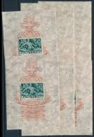 1940 10 db Árvíz (I.) blokk (12.000)
