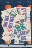 1900-1970 Több száz darab bélyeg ömlesztve 2 db zacskóban
