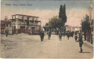 1928 Tirana, Tirane; Ruga e Xhamis Vjeter / Old Mosque Street (EK)