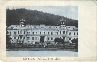 1916 Skole, Skole-Demnia; Palac p.p. Br. Greodlów / Groedel Castle (EK)