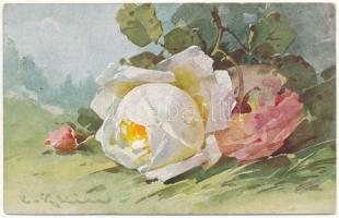 1931 Roses. Uvachrom Nr. 4432. Serie 249. s: C. Klein (EK)