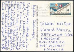 1994 Ausztriából a Sikaszó panzióba küldött képeslap