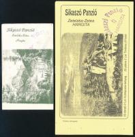 1991-1992 2 különböző használt füzetborító