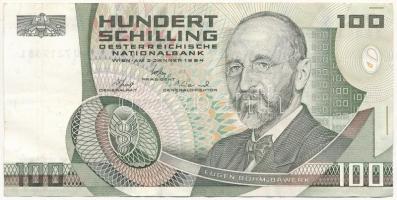 Ausztria 1984 (1985). 100Sch T:III  Austria 1984 (1985). 100 Schilling C:F Krause#150