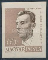 1960 Arcképek (II.) 60 f F. Joliot -Curie vágott bélyeg