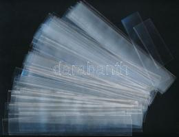 Kb. 100 db víztiszta hawid csík (193 x 25 mm)
