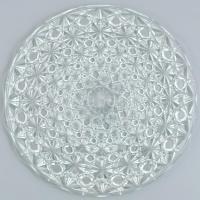 Luxhem de Veropa kristály kínáló tál eredeti dobozában. d: 30 cm