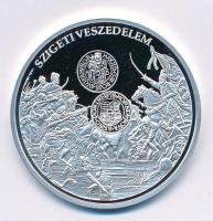 DN A magyar pénz krónikája - Szigeti veszedelem Ag emlékérem tanúsítvánnyal (20g/0.999/38,61mm) T:PP