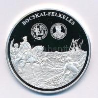 DN A magyar pénz krónikája - Bocskai felkelés Ag emlékérem tanúsítvánnyal (20g/0.999/38,61mm) T:PP