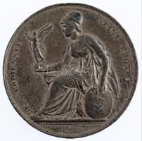Ausztria 1873. Bécsi Világkiállítás 1873 Sn emlékérem. Szign.: Th. Hansen, V. Christesen, F. Schmahlfeld (47,24g/53mm) T:2- ph. / Austria 1873. World Exhibition Vienna 1873 Sn commemorative medallion. DEM VERDIENSTE SEINE KRONE / WELTAUSSTELLUNG 1873 WIEN. Sign.: Th. Hansen, V. Christesen, F. Schmahlfeld (47,24g/53mm) C:VF edge errors