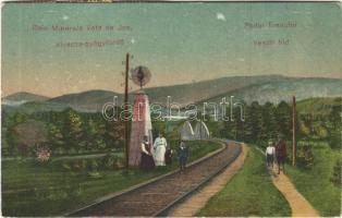 1921 Alváca-gyógyfürdő, Baie Minerale Vata de Jos; Vasúti híd / Podul Trenulni / railway bridge (EB)