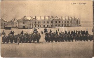Lida, Kaserne / military barrack, soldiers