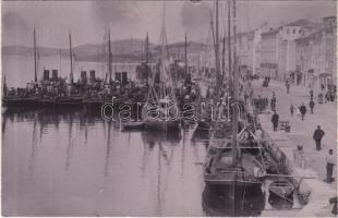 Mali Losinj, Lussinpiccolo; Osztrák-magyar haditengerészet torpedónaszádja / K.u.K. Kriegsmarine Torpedoboote / Austro-Hungarian Navy torpedo boats. photo