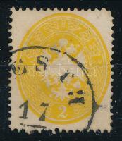 2kr dark yellow (short corner right above), 2kr sötétsárga
