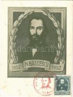1852-1952 Nicolae Balcescu. CM (Carte Maximum) (EK)