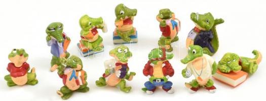 15 db Kinder krokodil figura 3,5 cm