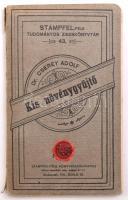 Dr. Cserey Adolf: Kis növénygyűjtő. Stampfel-féle Tudományos Zseb-könyvtár 43. Bp.-Pozsony, 1900, Stampfel, 78+1 p. Kiadói papírkötés, gerincén kissé szakadt állapotban.
