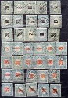 Tartalmas, szépen rendezett magyar gyűjtemény a Krajcáros kiadásoktól 1964-ig, benne jobb krajcáros rész, sorok, portóbélyegek, hármaslyukasztás stb., 2 db A/4 + 2 db közepes berakóban, kartondobozban