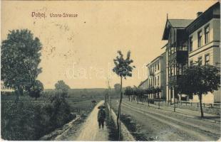1909 Doboj, Usora Strasse / street. W.L. Bp. 4917. Joh. Streitz (EK)