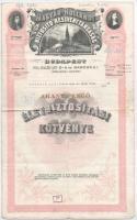 Budapest 1927. Hazai Általános Biztosító Részvénytársaság - Arany Pengő biztosítási kötvénye T:III