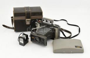 Polaroid 420 kamera eredeti kemény tokkal, vakuval.